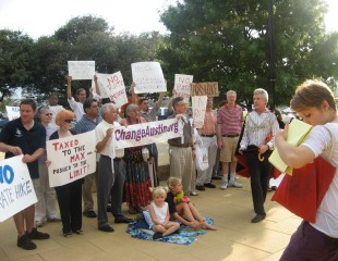 Tax protest a the Travis County Appraisal District, 2009