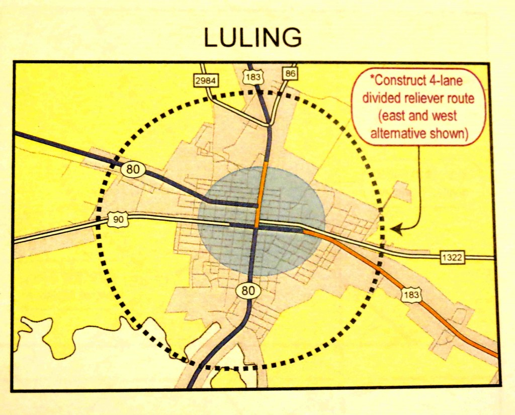Luling future congestion reliever loop copy